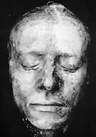 John Keats's death mask